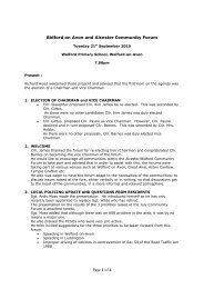 Tue 21 September 2010 (Notes, Briefing Paper, Presentation ...