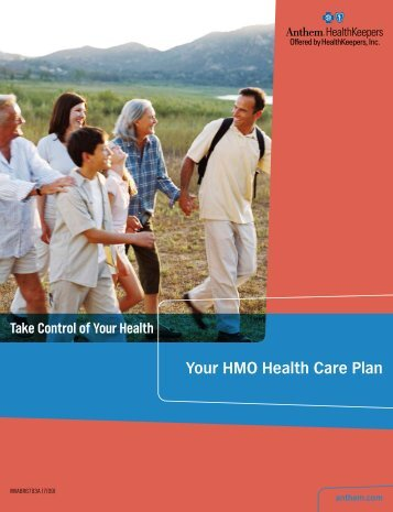 Your HMO Health Care Plan