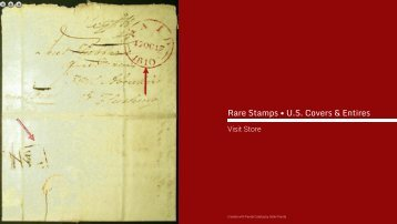 Rare Stamps • U.S. Covers & Entires