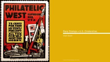 Rare Stamps • U.S. Cinderellas