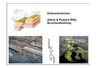 Extensionszonen Aktive & Passive Rifts ... - dynamicearth.de