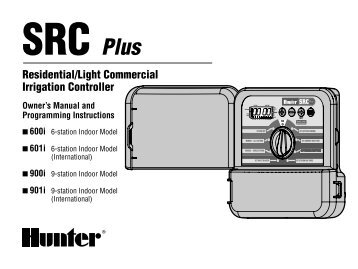 hunter srr controller remote control unit