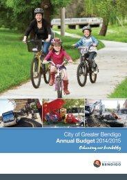 City of Greater Bendigo Annual Budget 2014/2015