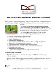 New Product Development and Innovation ... - Digital Celerity