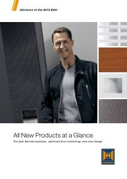 All New Products at a Glance - Hormann