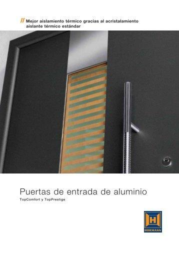 Puertas de entrada de aluminio - Hormann