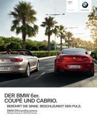 DER BMW 6er. COUPÉ UND CABRIO. - BMW Nefzger