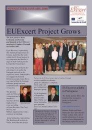 EUExcert Project Grows