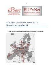 EUExNet December News 2011 Newsletter number 8 - EU-Excert