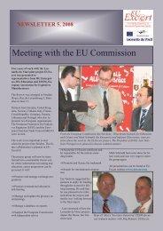 EUExcert Newsletter Nr. 5 2008