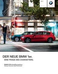 DER NEUE BMW 1er. - BMW Nefzger