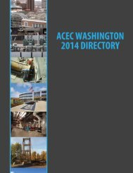 Member Directory - ACEC of Washington