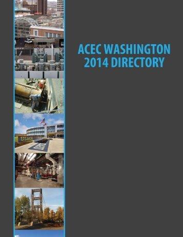 Member Directory - ACEC of Washington