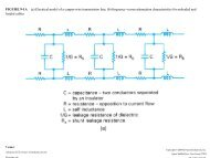 FIGURE 9-1A (a) Electrical model of a copper-wire transmission line ...