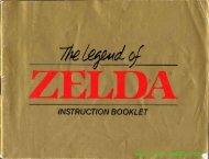Zelda Manual - Gamesb00k