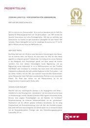 Pressemeldung 46 KB - Neff