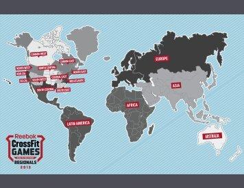 LATIN AMERICA EUROPE AFRICA ASIA AUSTRALIA - CrossFit