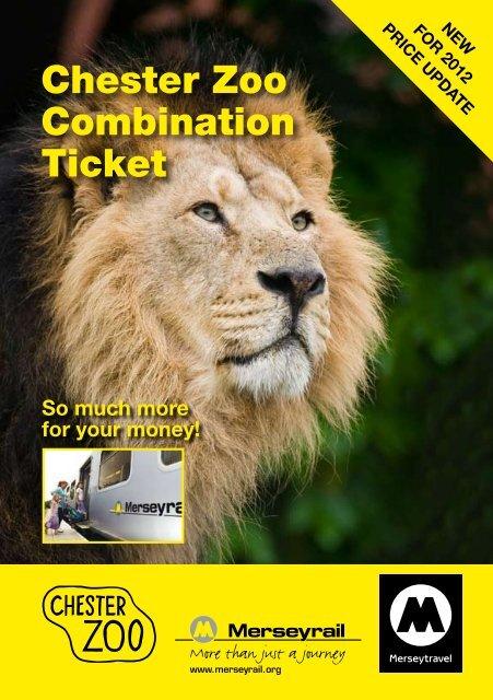 Chester Zoo Combination Ticket Merseytravel