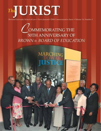 Download the 2004 Commemorative Issue - Howard University ...