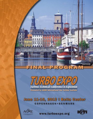 Welcome to Turbo Expo 2012! - Events