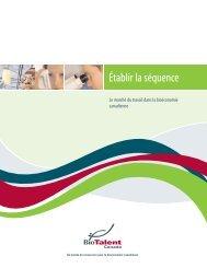 Voir le rapport complet - BioTalent Canada