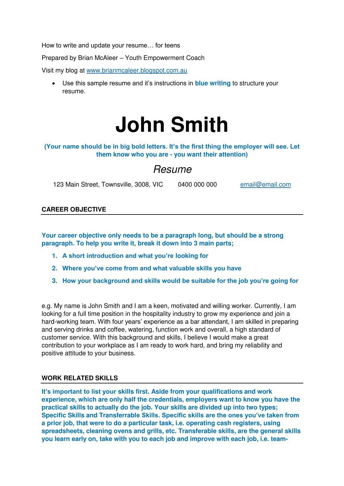 performing arts resume free magazines from mcaleerbrian computer science resume examples with resume sample for customer