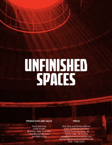 Unfinished Spaces - Architecture and Design Film Festival