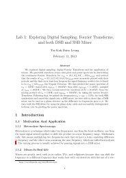 Lab 1: Exploring Digital Sampling, Fourier Transforms ... - UGAstro