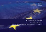 E U R O P E   2 0 2 0 - European Commission
