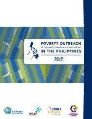 Poverty Outreach of Selected MFIs in the Philippines 2012.pdf