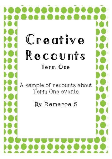 Creative Recounts