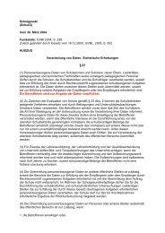 Schulgesetz (SchulG) Vom 30. März 2004 Fundstelle: GVBl 2004, S ...