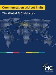 Communication without limits The Global MC Network - Com unit