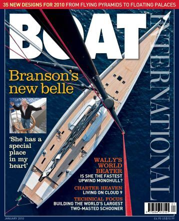 Boat International - January 2010 - CMN Yacht Division