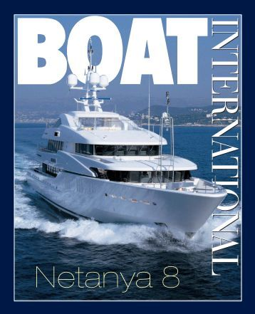 BOAT INTERNATIONAL Netanya 8 - CMN Yacht Division