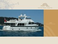 LONG RANGE MOTOR YACHT - Outer Reef Yachts