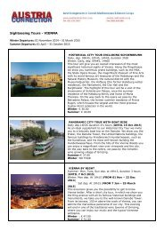 Austria 03 Sightseeing Tours Vienna.pdf - Austria Connection