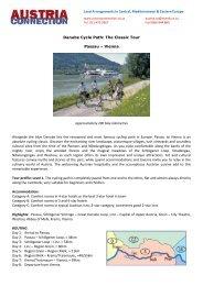 Danube Cycle Path: The Classic Tour Passau - Austria Connection
