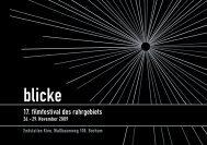 FILM IS C H E M IT TE L, IN D  U S T R IE LLE Z W E C K E ... - Blicke