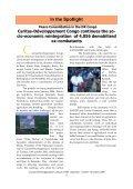Bulletin de liaison n°005 - english version - Caritas Congo - Page 5