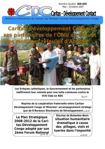 Bulletin Version finale - Caritas Goma