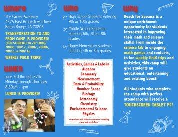 Reach for Success Brochure.10