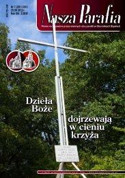 dojrzewają w cieniu krzyża Dzieła Boże - Nasza Parafia