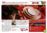 Week-end de Noël en Forêt de Retz...