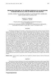 variabilidad estacional en los patrones espaciales de las ...