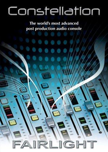 Constellation Brochure - フェアライトジャパン