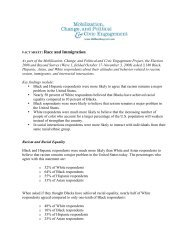 Fact Sheet 3-FINAL - Election 2008 and Beyond