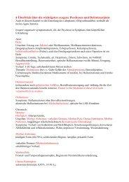 Überblick über die wichtigsten exogenen ... - Chlaugwitz.de