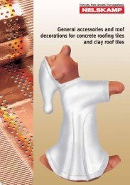 General accessories and roof decorations for concrete ... - Nelskamp