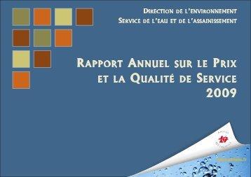 bilan eau potable - Amiens